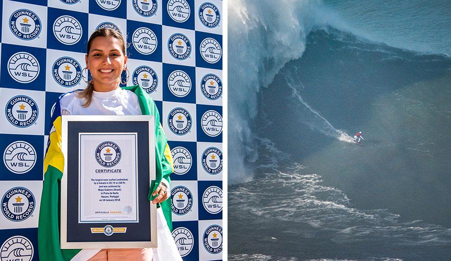 Maya Gabeira rekord Guinessa