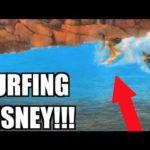 Surfing w Disneylandzie