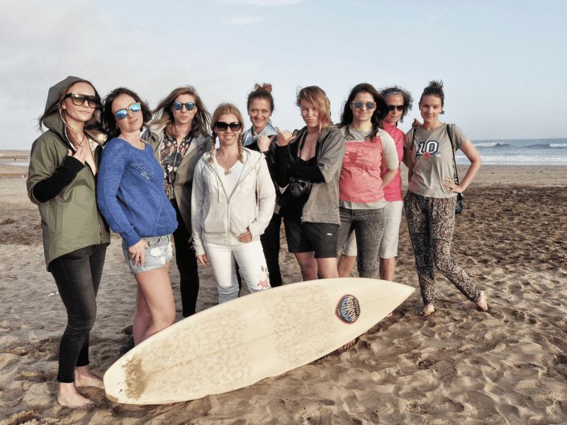 Relacja z Gran Canaria Girls Surf Camps 2018