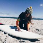 Pianka Janga - surferki testują