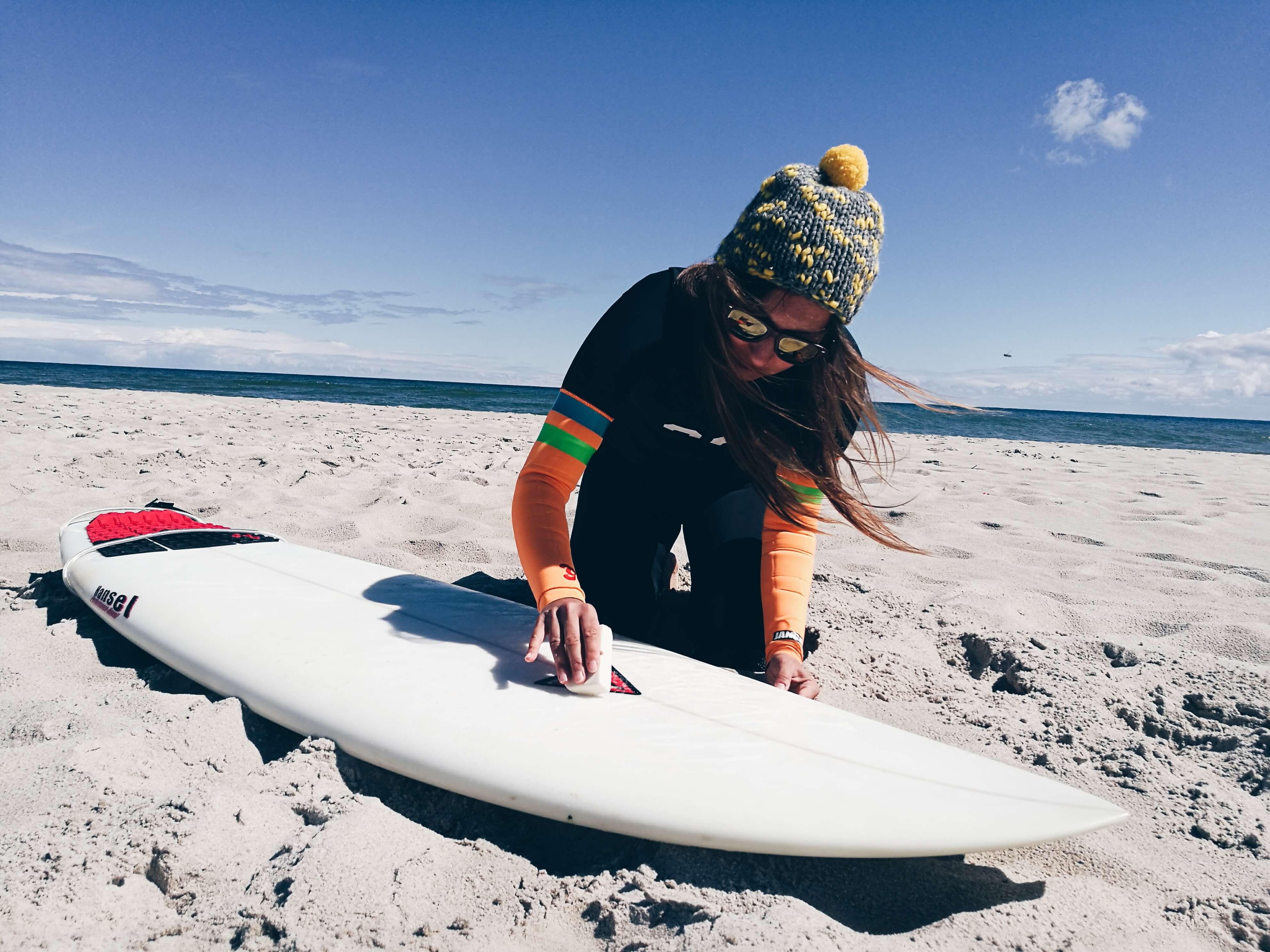 Pianka Janga – surferki testują