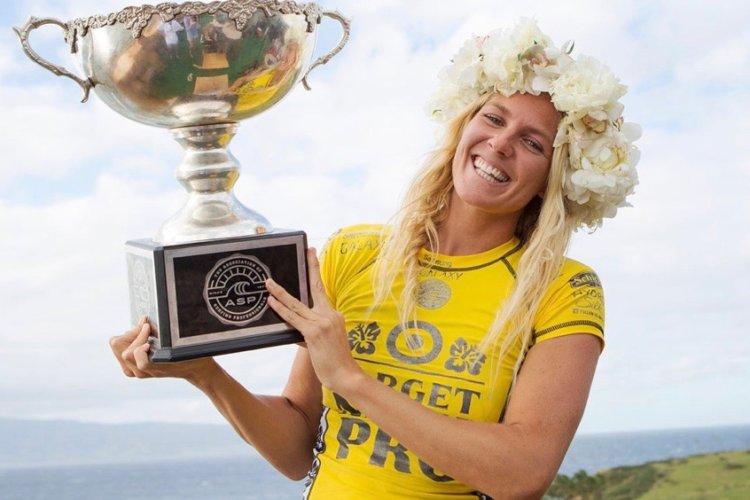 Stephanie Gilmore mistrzynią świata w surfingu