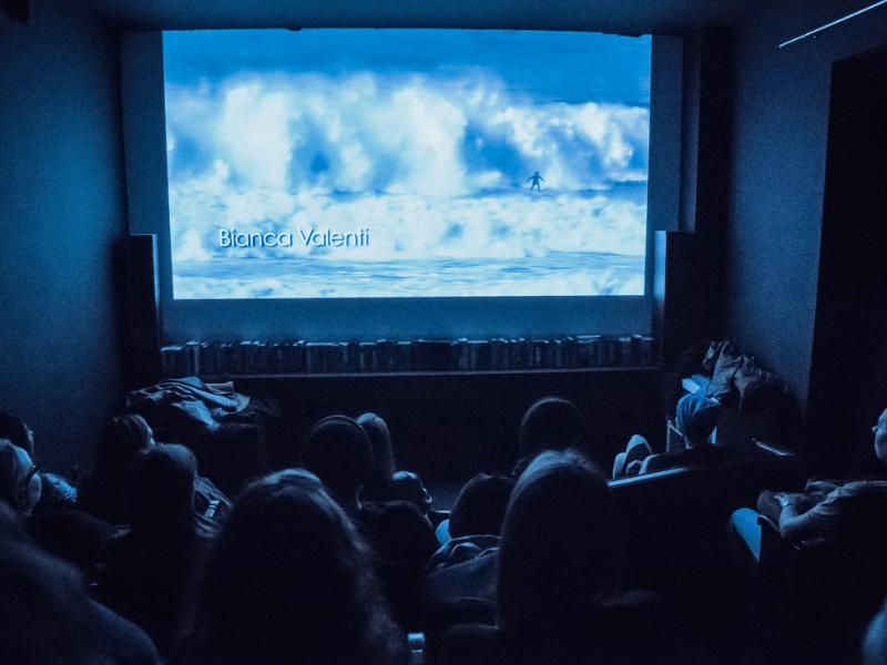 dyskusja po filmie It ain't pretty podczas Warsaw Surf Film Festival