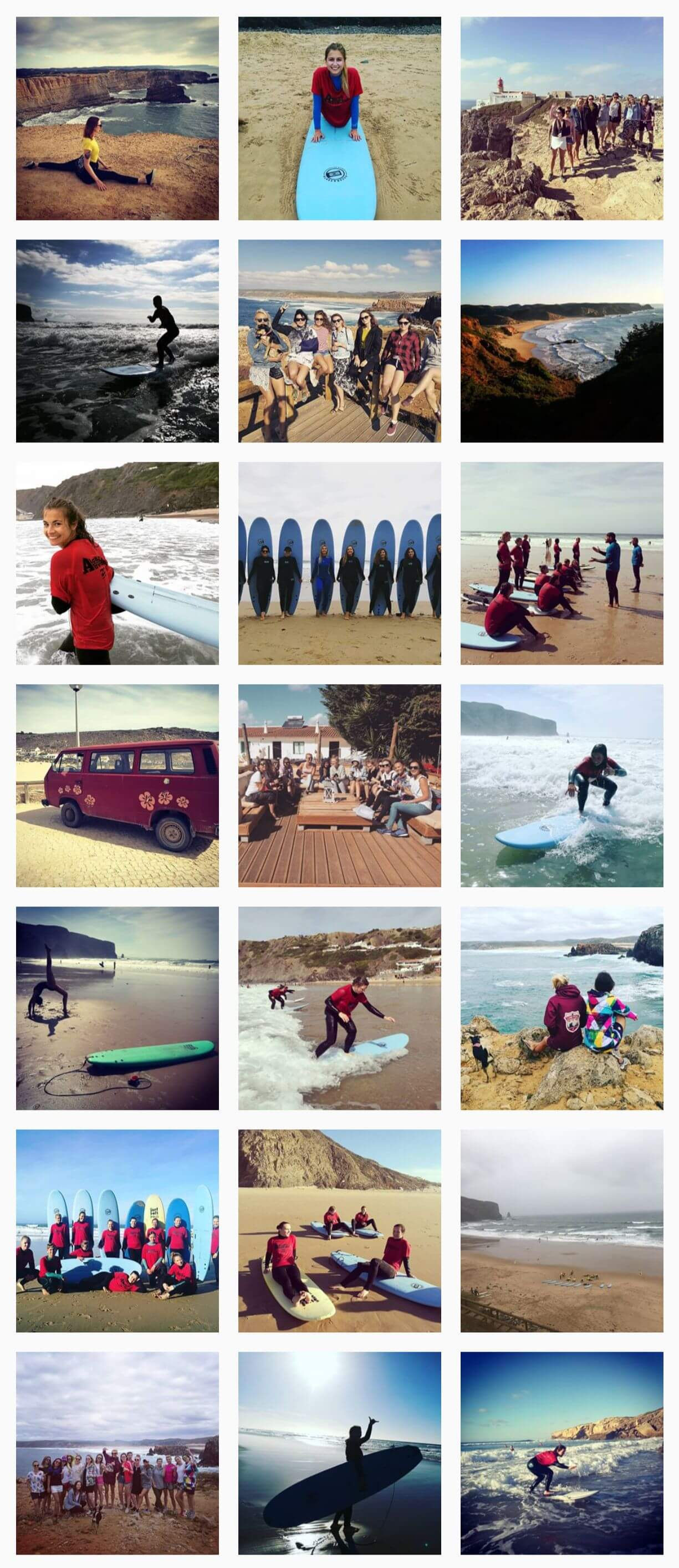 Instagram surferki