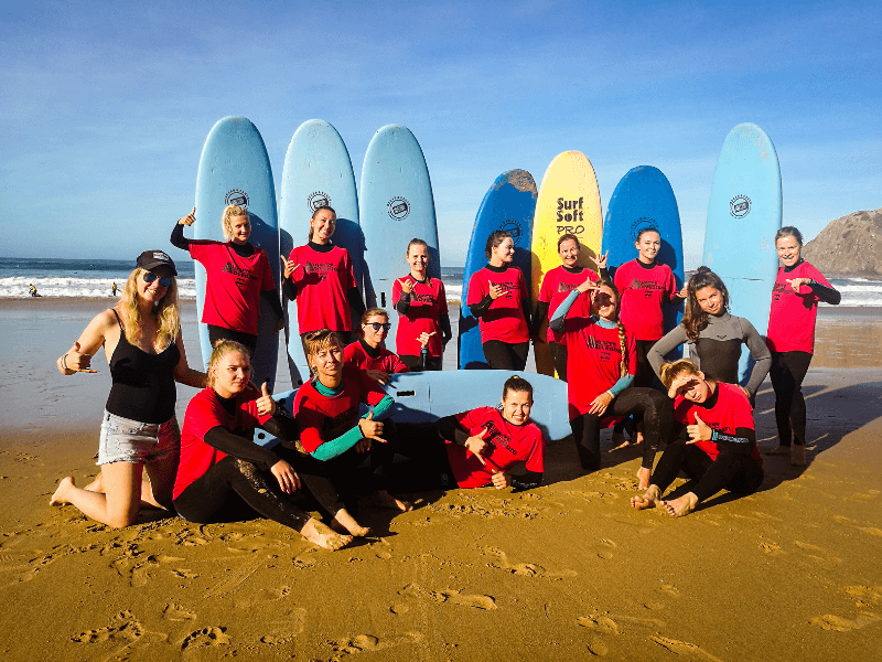 Algarve Girls Surf Camp