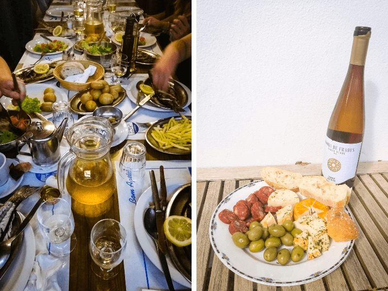 Algarve Girls Surf Camp portugalskie jedzenie