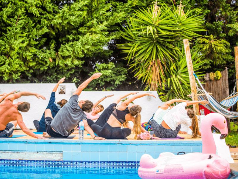 Algarve Girls Surf Camp joga