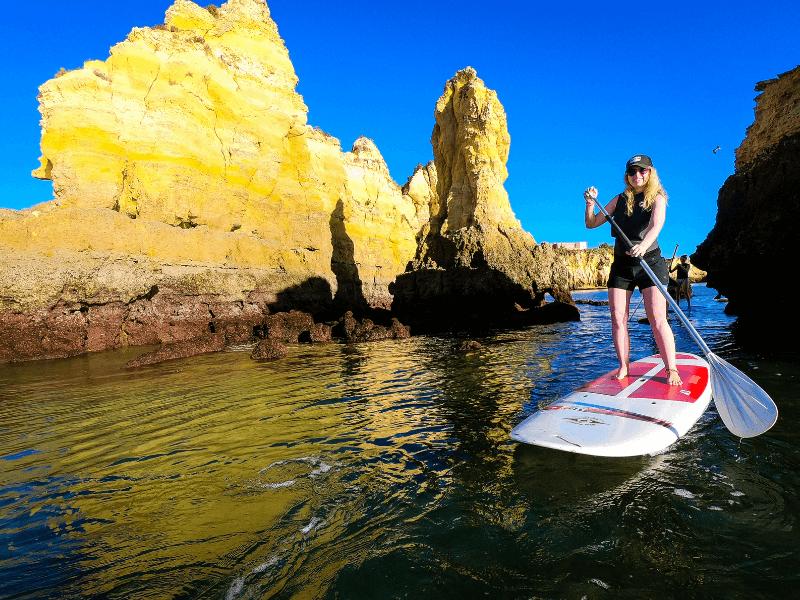 Algarve Girls Surf Camp SUP