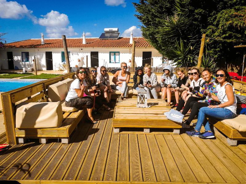 Algarve Girls Surf Camp integracja