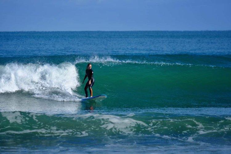 o tym jak zaczęłam surfować w wieku 36 lat