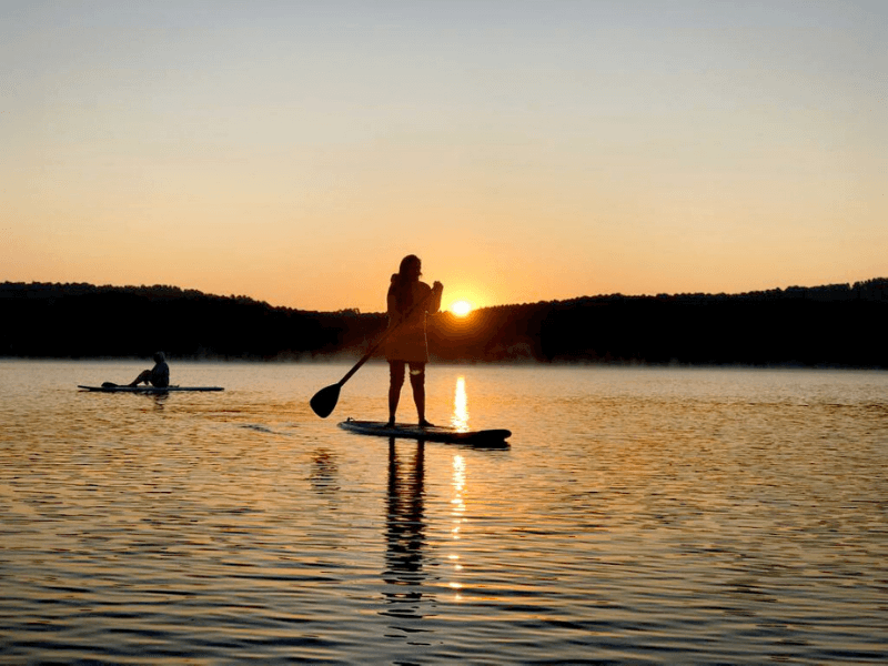 Girls SUP weekend na Warmii