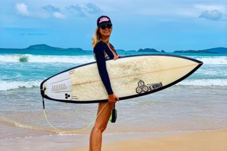 Brazylijska przygoda surferki Oli