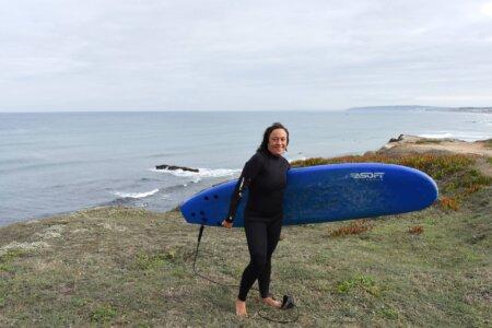 Od Bałtyku do Portugalii – surfingowa historia Marty