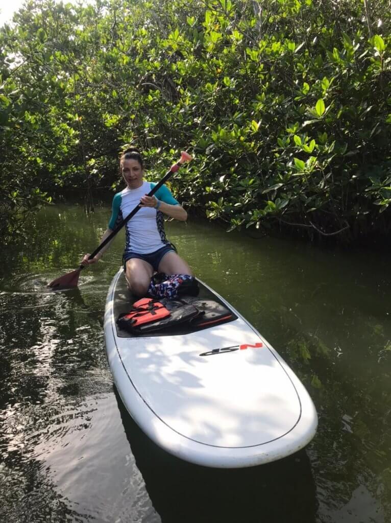 SUP mangrowce Meksyk