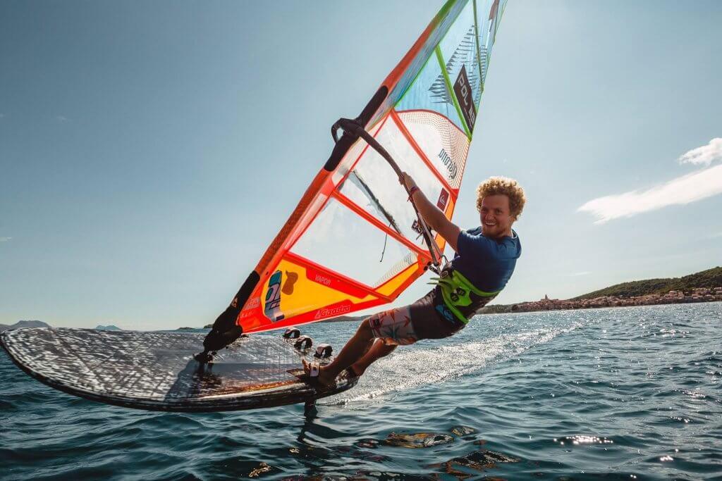 windsurfer Maciek Rutkowski
